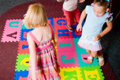 Preschool Alphabet Floor Play
