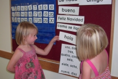 Preschool Spanish Phrases