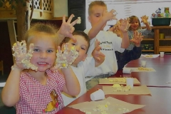 Preschool Cooking - Rice Krispie Treats