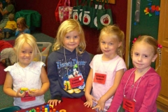 Preschool Girl Friends