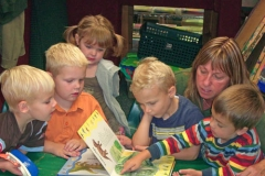 Preschool Group Reading