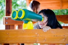 Preschool Outdoor Play -samantha-binoculars