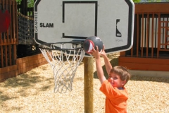 Preschool Outdoor Play - basketball
