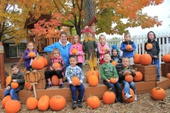 Preschool Outdoor Play -Playground Pumpkin Hunt