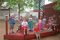 Preschool Outdoor Play - new-boat