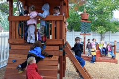 Preschool Outdoor Play -play-structure