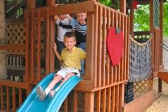 treehouse-slide