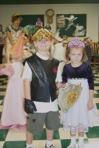 Delaney Dangerfield in Kindergarten in 2001. Newcastle's Annual Cinderella Ball