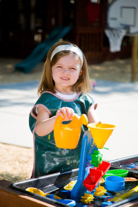 A safe outdoor playground is an important consideration when selecting a good preschool.