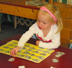 Newcastle teachers are trained in the Early Childhood math learning centers and activities.
