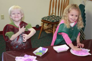 Great preschools provide a wide variety of hands-on learning activities.