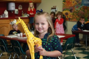 Newcastle preschool students benefit from a consistent routine and a daily schedule in dynamic early childhood classrooms.