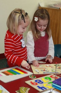 Newcastle Preschool uses Developmentally Appropriate Practices
